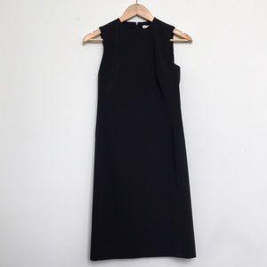 Prada midi black dress
